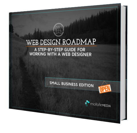 Web Design Roadmap: A Step-By-Step Guide for Working With a Web Designer: SMALL BUSINESS EDITION